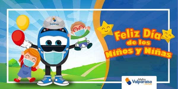 Día del niñ@ MetroValpo #MesDeLaInfancia