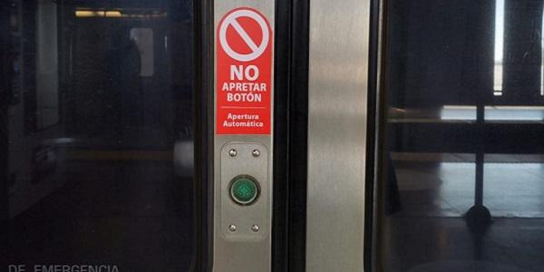 Apertura automática de puertas se suma como nueva  medida de prevención en Metro Valparaíso