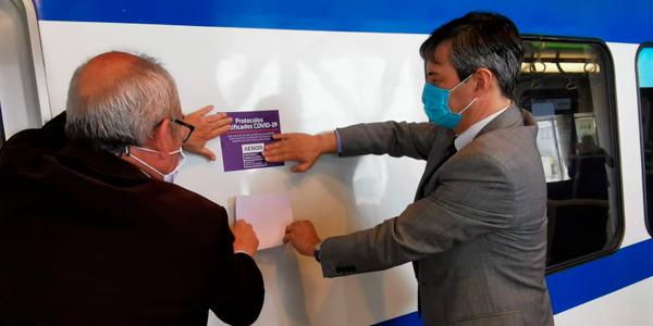 Metro Valparaíso obtiene certificación internacional que garantiza efectividad de medidas contra el COVID-19