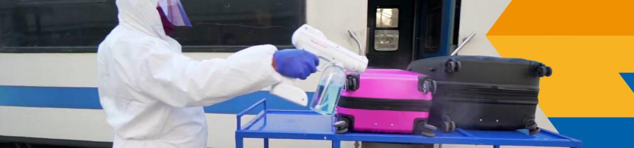 Desinfección de equipaje