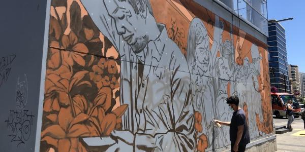 Murales de destacados artistas urbanos serán parte del paisaje de las estaciones de Metro Valparaíso