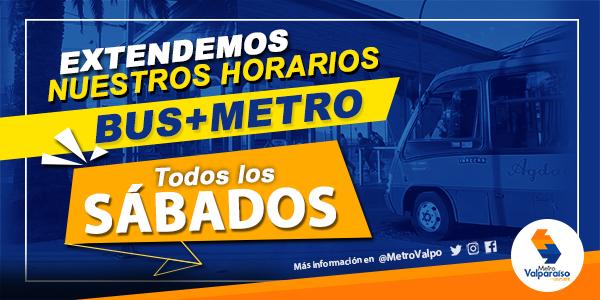 Buses de combinación con trenes reanudan su operación los sábados con servicios especiales
