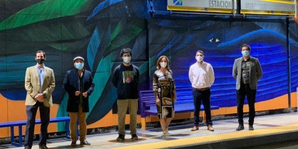 Seremi de las Culturas y Metro Valparaíso firman convenio para desarrollar proyecto de murales en estaciones
