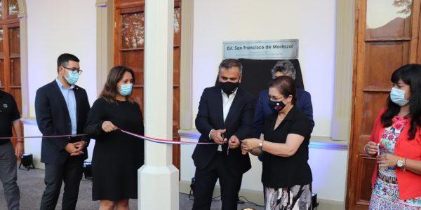 Antigua Estación Mostazal es recuperada gracias a convenio entre EFE y el municipio