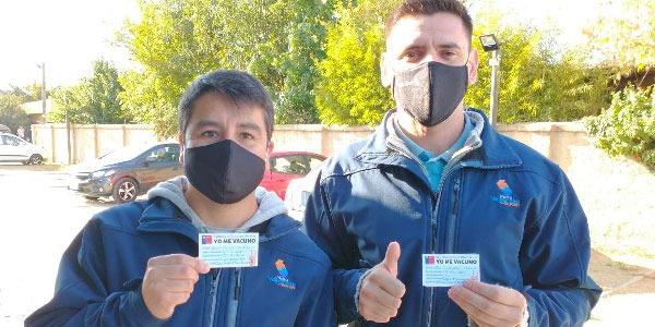 Personal de Metro Valparaíso comenzó proceso de vacunación