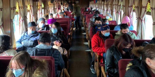 Tren del Recuerdo reinició su operación entre Santiago y San Antonio